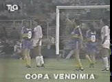 Gol de Musladini a Indep. Riv (Boca 1-Indep. Riv 1 17-03-87)