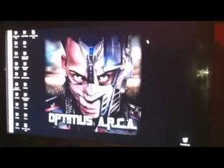 Arcangel En El Estudio 1er Video Optimus Arca @Alqaedas Estudio