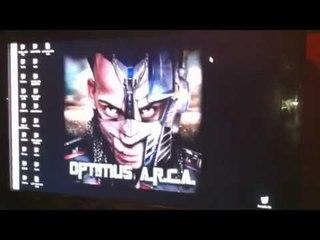 Arcangel En El Estudio 1er Video Optimus Arca @Alqaedas Estudio