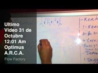 Arcangel En El Estudio 31/Oct a las 12:01 Video Optimus Arca @Alqaedas Estudio