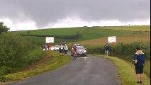 Route du Sud 2016 - 2e étape : Passage au sommet de la Côte Saint-Pierre-de-Combejac