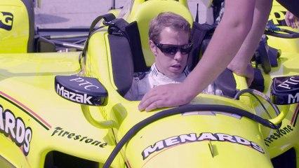 IndyCar - Brad Keselowski teste la monoplace de Simon Pagenaud