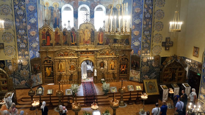 La cathédrale russe de Nice revit