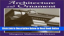 Download Architecture and Ornament: An Illustrated Dictionary  PDF Online