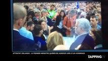 Attentat d'Orlando : Le premier ministre québécois agressé lors d'un hommage (Vidéo)