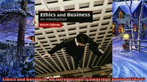 Pdf online  Ethics and Business An Introduction Cambridge Applied Ethics