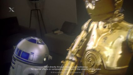 """ILMxLAB and Magic Leap """"Lost Droids"""" Mixed Reality Test"""