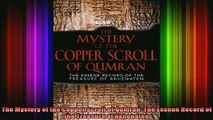 READ book  The Mystery of the Copper Scroll of Qumran The Essene Record of the Treasure of Akhenaten Full EBook