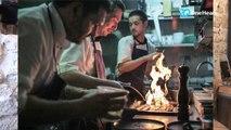 Des chefs réfugiés aux fourneaux de restaurants parisiens!