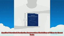 Free PDF Downlaod  Applied Survival Analysis Regression Modeling of Time to Event Data READ ONLINE