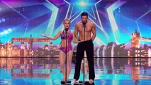 Katy and Paul leave the Judges in a spin - Week 2 Auditions - Britain's Got Talent 2016