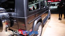 2016 Mercedes-Benz G-Class G550 V8 - Exterior and Interior Walkaround - 2015 LA Auto Show