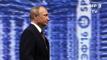 """Sanctions: Poutine, pas """"rancunier"""" envers les Européens"""
