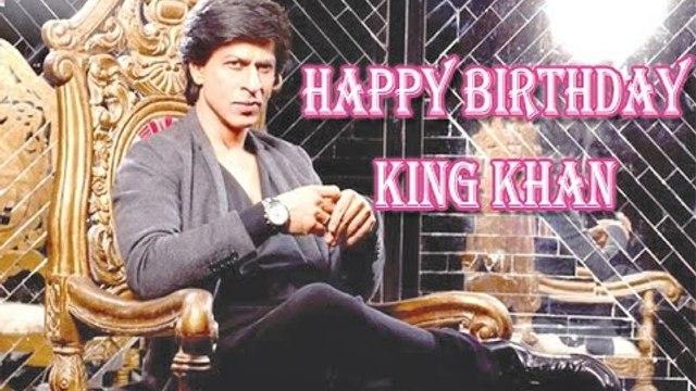 Shahrukh Khan Celebrates His 50th Birthday   Happy Birthday King Khan