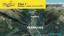 Tour de Romandie. 1re étape, mercredi 27 avril, Martigny-Leysin.