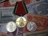 Монета и медаль 20 лет победы  в ВОВ  10 крон 10 лет победы Чехословакия