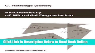 Download Biochemistry of microbial degradation  PDF Online