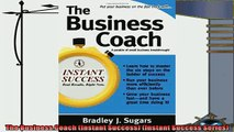complete  The Business Coach Instant Success Instant Success Series
