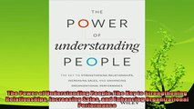 behold  The Power of Understanding People The Key to Strengthening Relationships Increasing Sales
