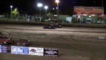 Merced Speedway King of the Hill Modified Battle  7-27-13  #2