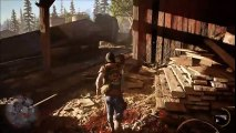 Days Gone - PS4 Gameplay - E3 2016