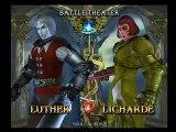 Soul Calibur III- Battle 20: Luther vs. Licharde