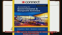 there is  Connect Access Card for Accounting for Governmental  Nonprofit Entities