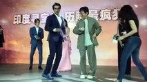 Jackie Chan, Sonu Sood dancing on (BOLLYWOOD SONG) Daler Mehndi song  Tunak Tunak Tun