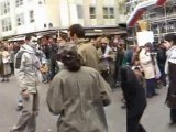 Action Paris Palestine Checkpoint Ramallah
