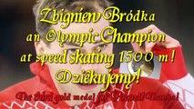 Video 2014-2-24 OLYMPICS Sochi,Russia ZBIGNIEW BRÓDKA wins GOLD MEDAL at speed skating 1500m!