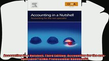 behold  Accounting in a Nutshell Third Edition Accounting for the nonspecialist CIMA
