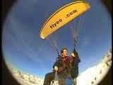 Flyeo parapente biplace initiation parapente en hiver