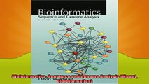 EBOOK ONLINE  Bioinformatics Sequence and Genome Analysis Mount Bioinformatics  FREE BOOOK ONLINE