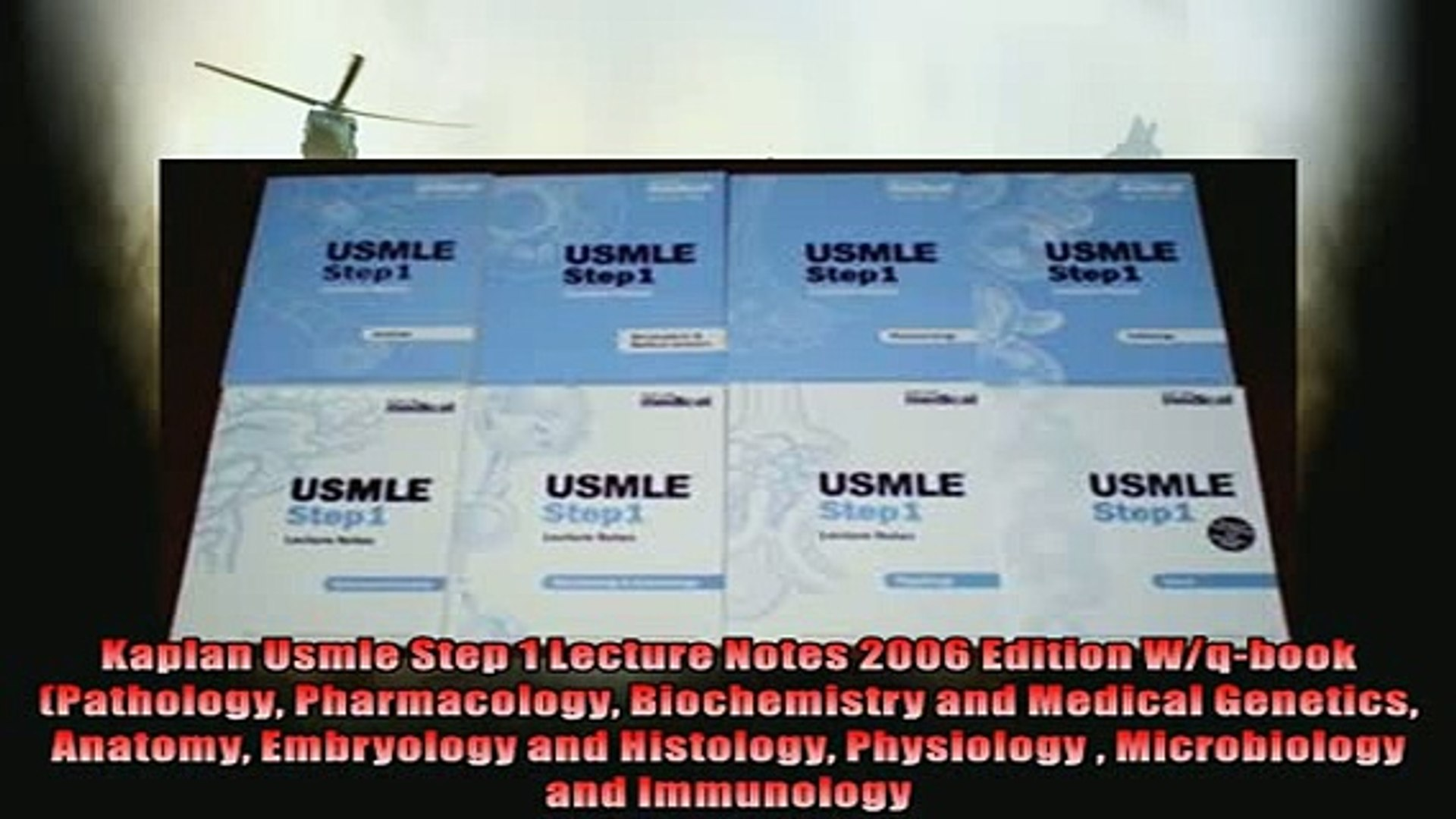 READ book Kaplan Usmle Step 1 Lecture Notes 2006 Edition Wqbook Pathology  Pharmacology FREE BOOOK ONLINE