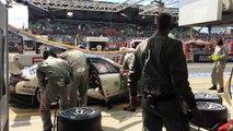 24 horas de Le Mans 2016 - Así se cambian los neumáticos y se reposta un Porsche