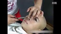 Headshave and Face Shave with Razor