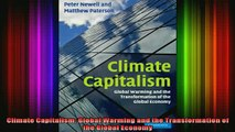 READ book  Climate Capitalism Global Warming and the Transformation of the Global Economy Full Free