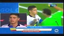Entrevista James Rodriguez Colombia vs Peru - Cuartos de Final - Copa America