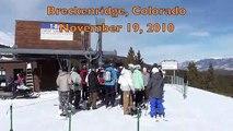 Breckenridge Peak 8 T-Bar - November 19, 2010