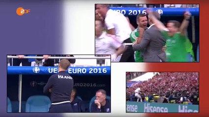 Euro 2016: a kispadok az Izland - Magyarország mérkőzésen