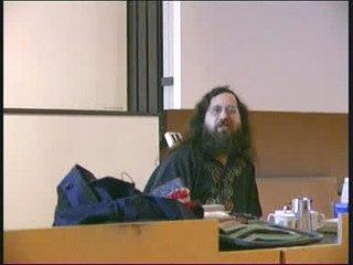 Richard Stallman - Lecture in Lund part 14/17