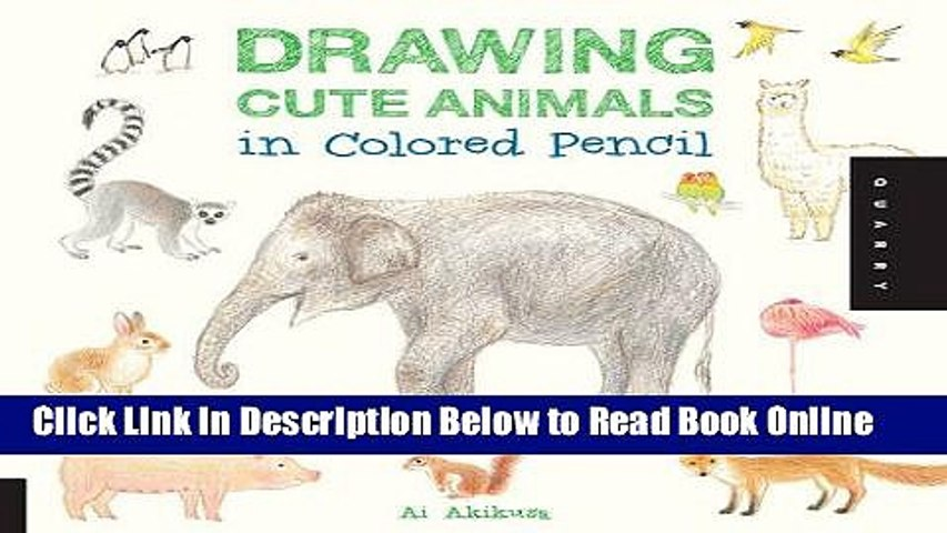 Download Drawing Cute Animals In Colored Pencil Pdf Free