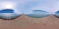 Images impressionnantes à 360 degrés de la construction du pont de Crimée