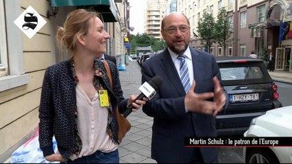 Martin Schulz : le patron de l'Europe - Le Supplément du 19/06 - CANAL+