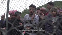 Behind the Barbed Wire - A Young Syrian in Greece
