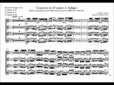 [Accompaniment] Bach BWV972 / Vivaldi Concerto in D major 2.Adagio [Sheet music]