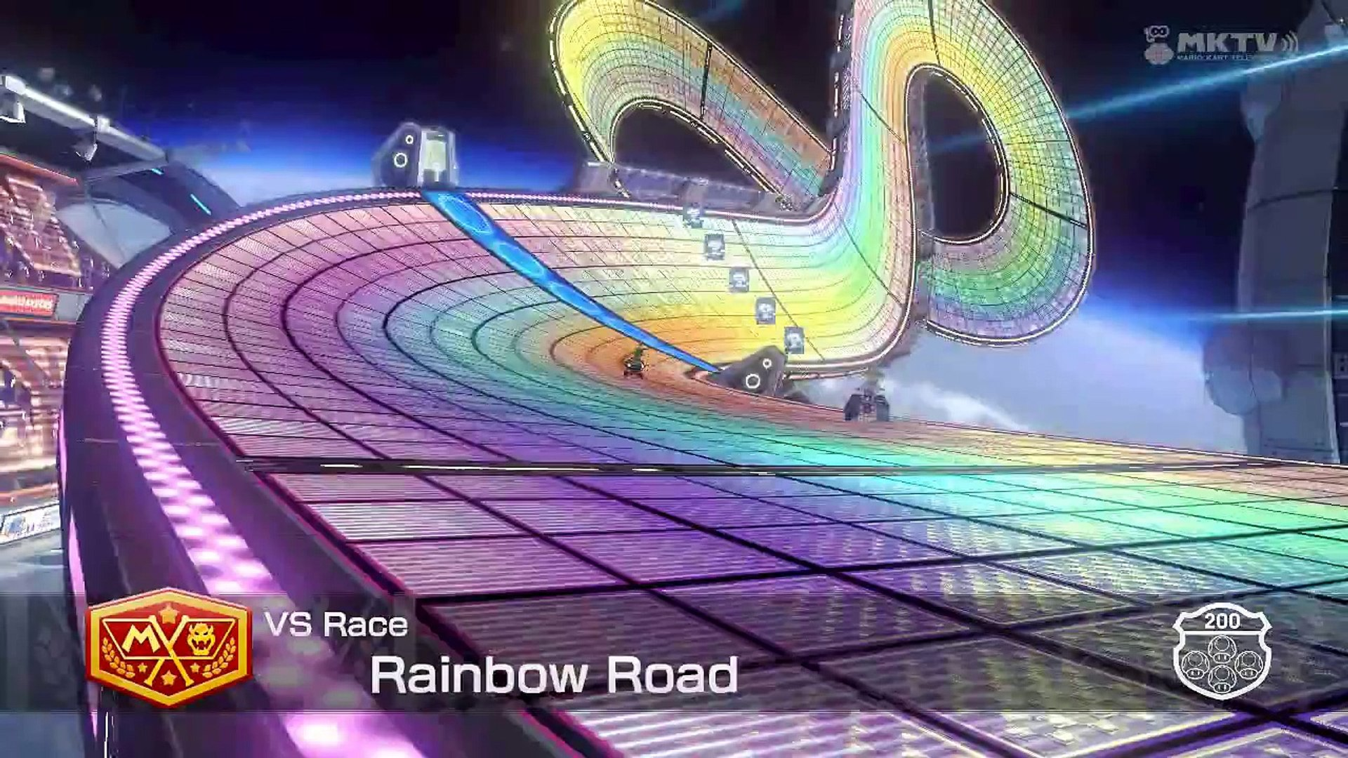 Mario Kart 8 Countdown 26 Rainbow Road Video Dailymotion