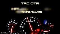 TRC R35 GTR speedo pulls Tune 511whp vs stock 453whp