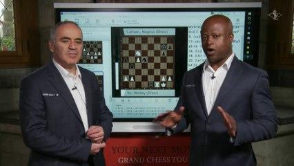 World Renowned GM Garry Kasparov and GM Maurice Ashley - GM Kasparov speaks on the Grand Chess Tour Vision and the Grand Chess Tour Players - GCT Official U.S.