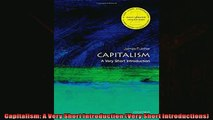 For you  Capitalism A Very Short Introduction Very Short Introductions